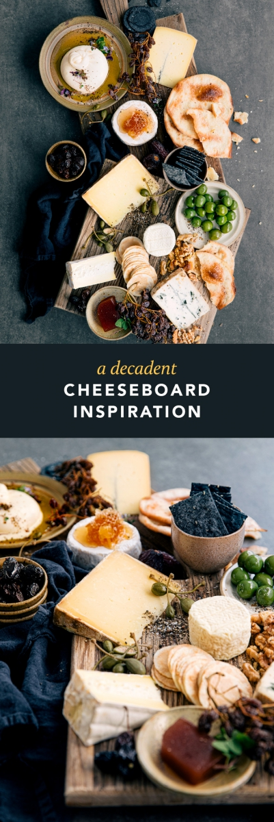 A Decadent Cheeseboard Inspiration  |  Gather & Feast