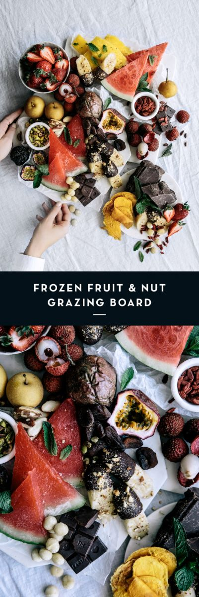 Frozen Fruit & Nut Grazing Board  |  Gather & Feast