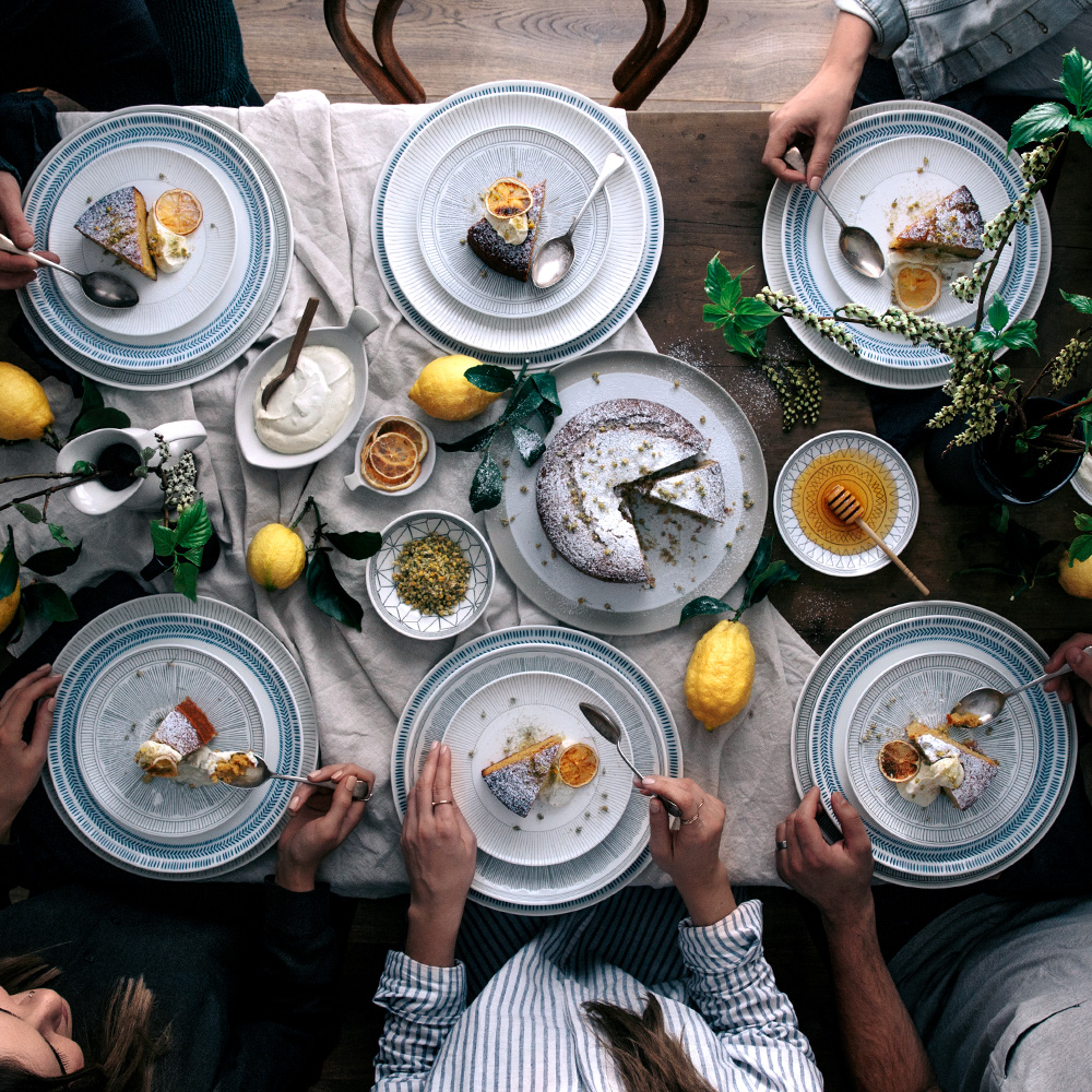 Table Scene  |  Gather & Feast
