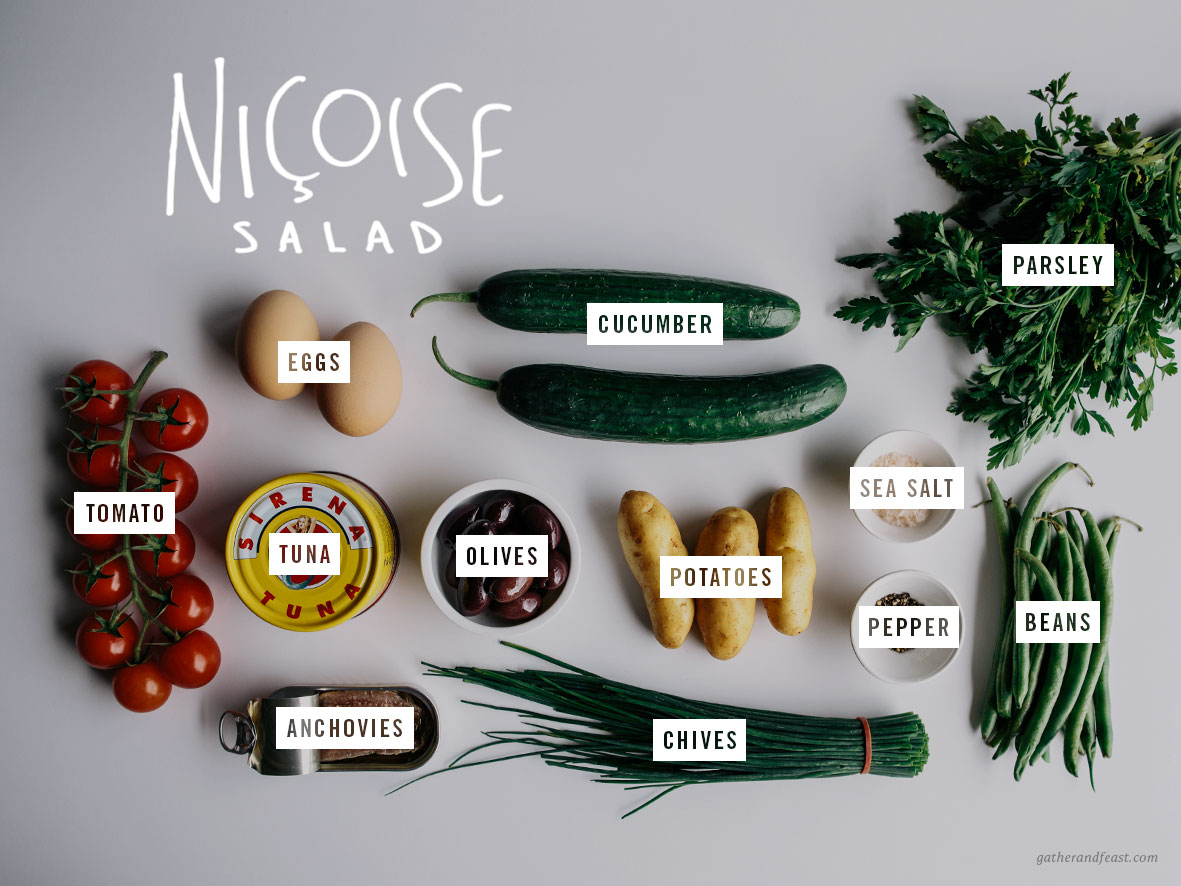 Niçoise Salad  |  Gather & Feast