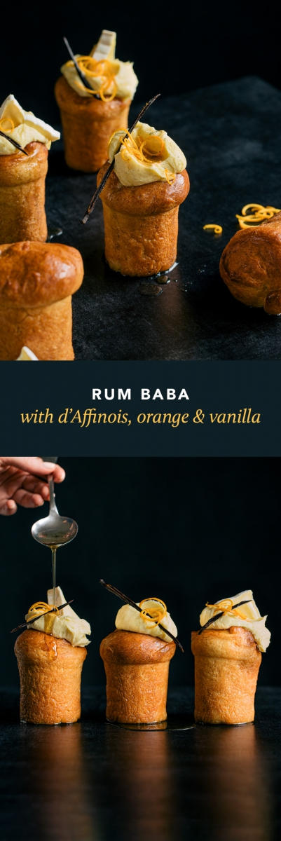 Rum Baba with d'Affinois, Orange & Vanilla  |  Gather & Feast
