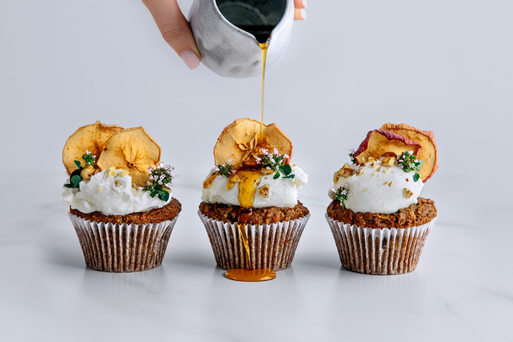 Sweet Potato & Pear Spiced Muffins  |  Gather & Feast