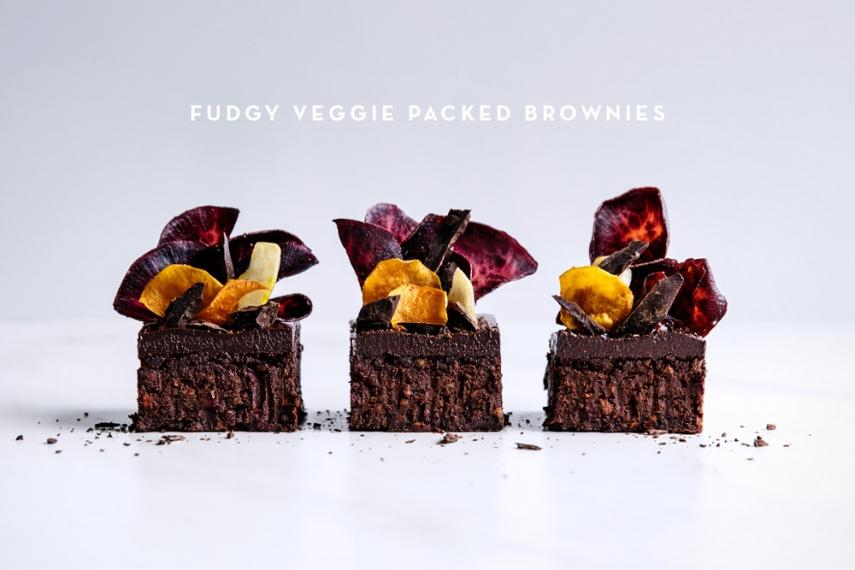 Fudgy+Veggie+Packed+Brownies++%7C++Gather+%26+Feast