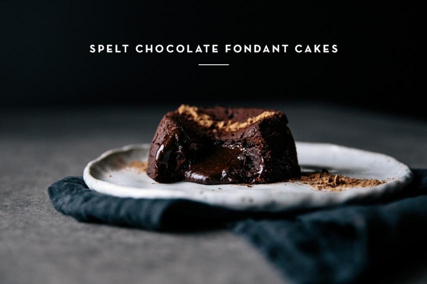 Spelt+Chocolate+Fondant+Cakes++%7C++Gather+%26+Feast