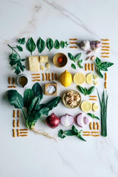 Chickpea+Casarecce+with+Tuna%2C+Lemon+%26+Fresh+Herbs++%7C++Gather+%26+Feast