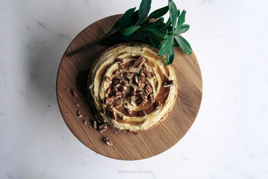 Raw+Vegan+Carrot+Cake++%7C++Gather+%26+Feast